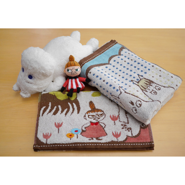 Nippon Maru really [Moomin family embroidered towels] _
