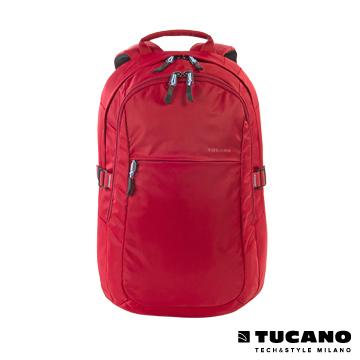 (TUCANO)TUCANO LIVELLO UP glossy 15.6-inch computer bag nylon back - bright red