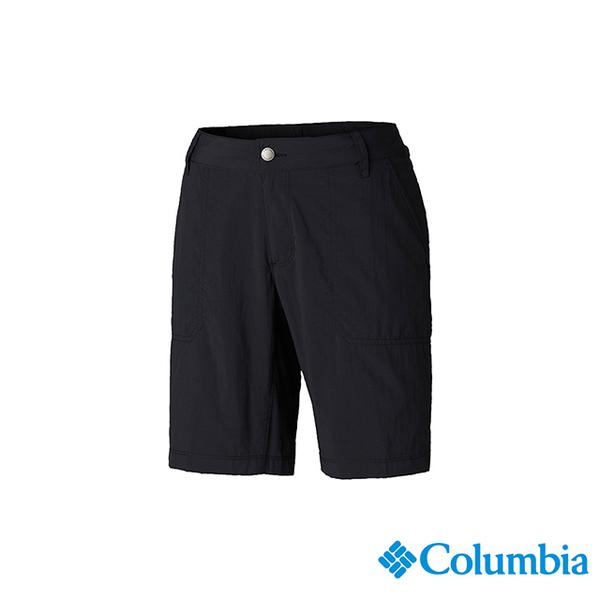 โคลัมเบียโคลัมเบียรุ่นหญิง -UPF50 กางเกงขาสั้นระบายน้ำได้อย่างรวดเร็ว - ดำ UAR26670BK