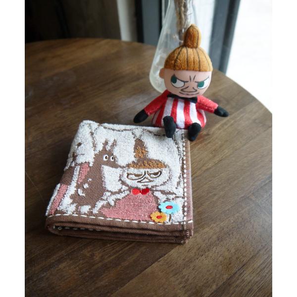 Nippon Maru really [Moomin family embroidered towel] _