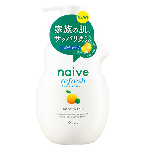 (kracie)Na Aibo Shower Milk / Fresh Sea Mud N530mL