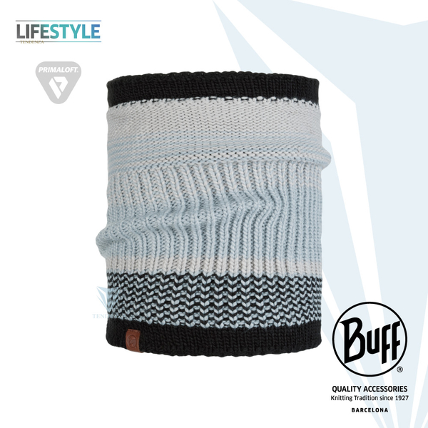 [BUFF] Lifestyle BFL116041 knitted thermal scarf playful gray BORAE