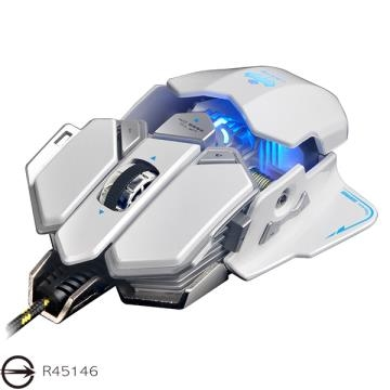 [TAITRA] X7 Transformers Programmable Gaming Mouse_White