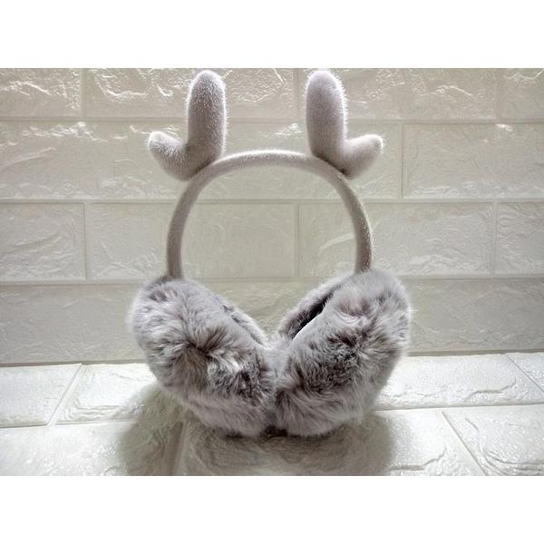 Famous fluff earmuffs warm antlers