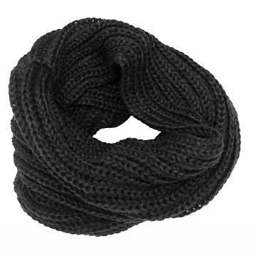 Charme Korean version of the new design plain warm high collar small collar (dark gray)