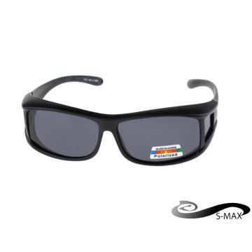 สามารถเคลือบแก้วในตัวแทน S-MAX [แบรนด์] UV400 แว่นตากันแดดเลนส์ป้องกันแสงสะท้อนป้องกันแสงสะท้อนแสงเกรด PC Polarized