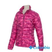 Columbia Women's Columbia-OH700 Camo Down Jacket- Pink Camo (UPL50450PZ / Warm. Outdoor. Leisure)