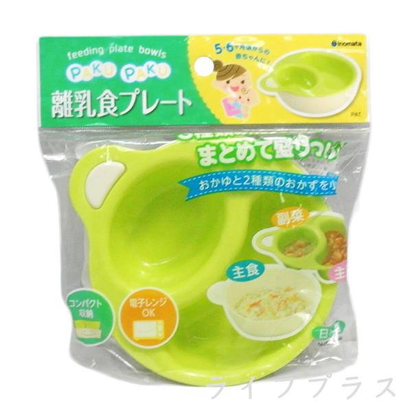 (一品川流)Inomata BABY with dish - apple green
