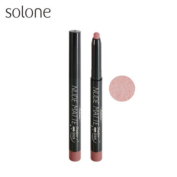 (Solone)Solone Color Soft Fog Eye Shadow Pen 01 Rose Powder 1.1g