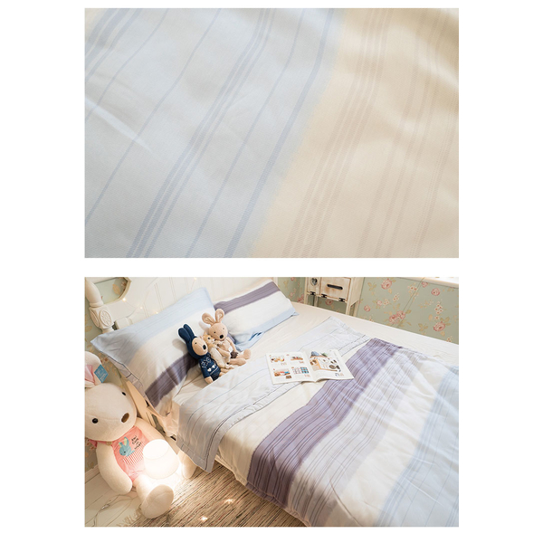 Anna Home weaving silk bed set time of the day was cooler 5X6 feet + pillowcase (X2) group in Taiwan