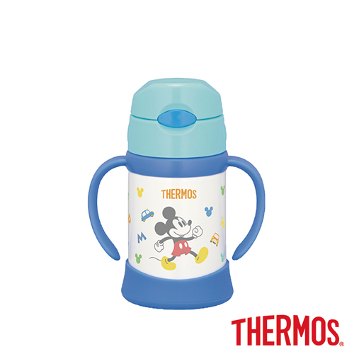 (THERMOS) THERMOS มิกกี้สแตนเลสเด็กเรียนรู้ถ้วย 250ml (FHI-250DS-LB)