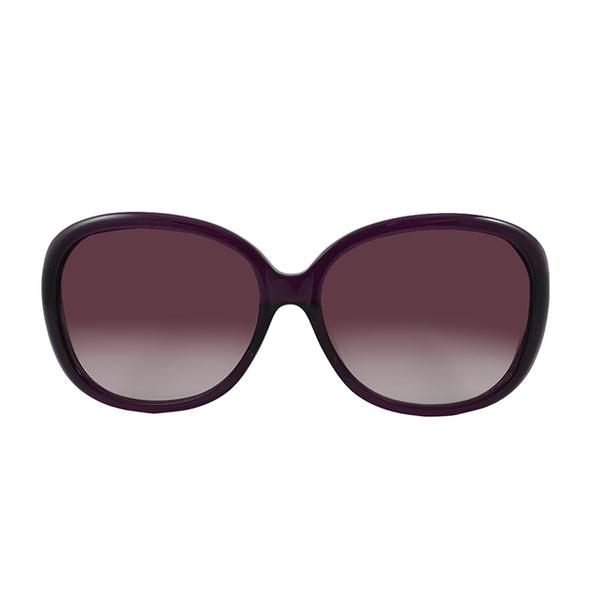 (安娜蘇)[ANNA SUI Anna Sui] Fragrance Garden Royal Aristocratic Wind Brand Badge Sunglasses (Purple - AS881731)
