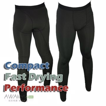 มัลติฟังก์ชั่ PRO แน่นกางเกงขายาวสีดำเย็บ