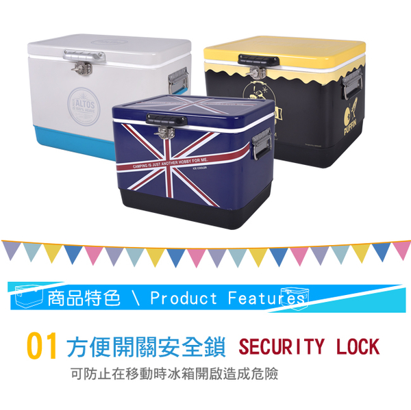 [South Korea] ICE COOLER selling stainless steel refrigerator Action 29L / ice bucket / incubator (Pink)