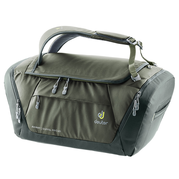 [Germany] AVIANT DUFFEL PRO deuter outdoor multi-purpose player kits 60L (3521120 olive green / business / bags / travel bag)