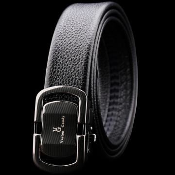 (Vaston Gaudy)Vaston Gaudy Weissen. Gaudi first layer cowhide double ring electric laser strip automatic buckle belt -V37G323
