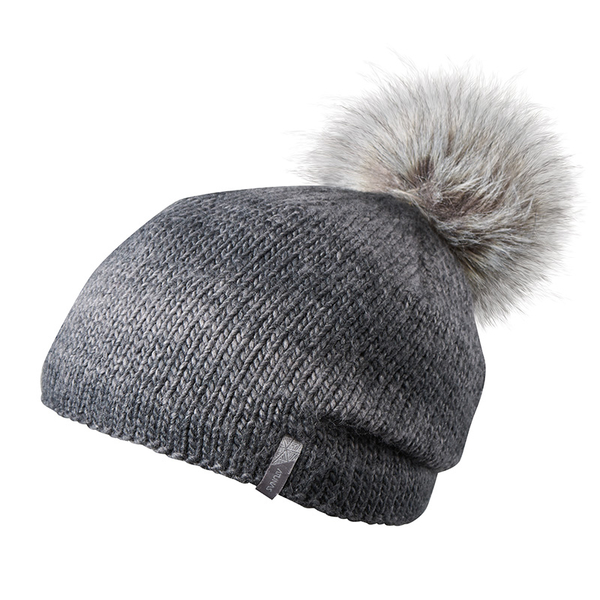 (ATUNAS)[ATUNAS Ou Duna] PRIMALOFT warm hat (A1AH1901N black / bristled / soft / comfortable / fur cap / outdoor leisure)