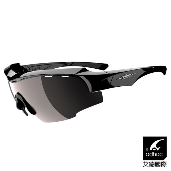 (ADHOC)[ADHOC] Aide International Sports Sunglasses K-NIGHT (bright black / standard coated film)