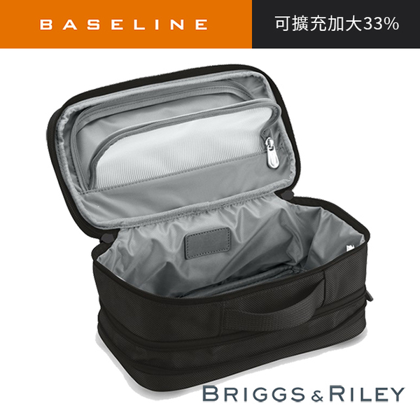 BL scalable toiletries bag - black