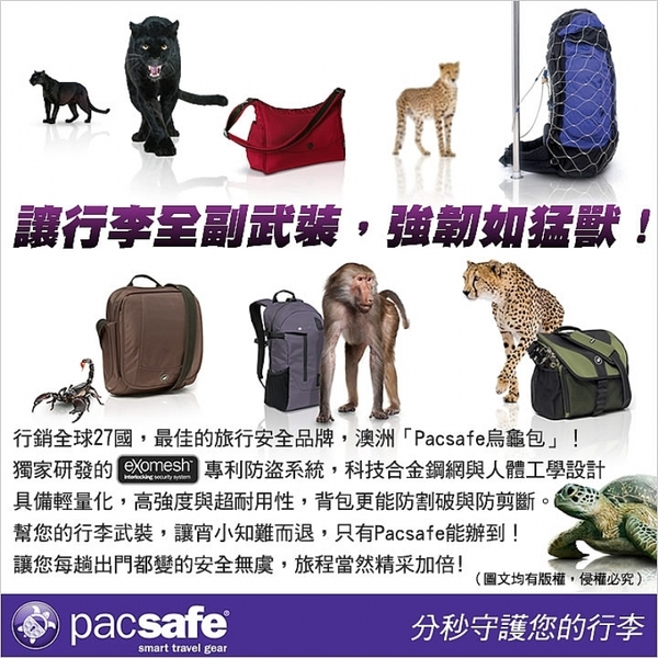 Pacsafe CITYSAFE CS150 leisure oblique package (F) (red berry) PF20215310 (3480)