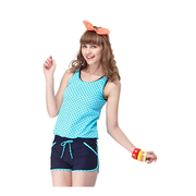 สาวเอ็มไอทีคลาสสิกสองชิ้นกางเกงชุดว่ายน้ำชิ้น