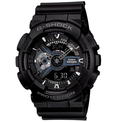 (CASIO)G-SHOCK super double mechanical movement is of mystery Man - Black LCD
