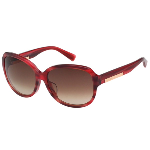 (marc by marc jacobs)MARC BY MARC JACOBS Sunglasses (Marble Red)