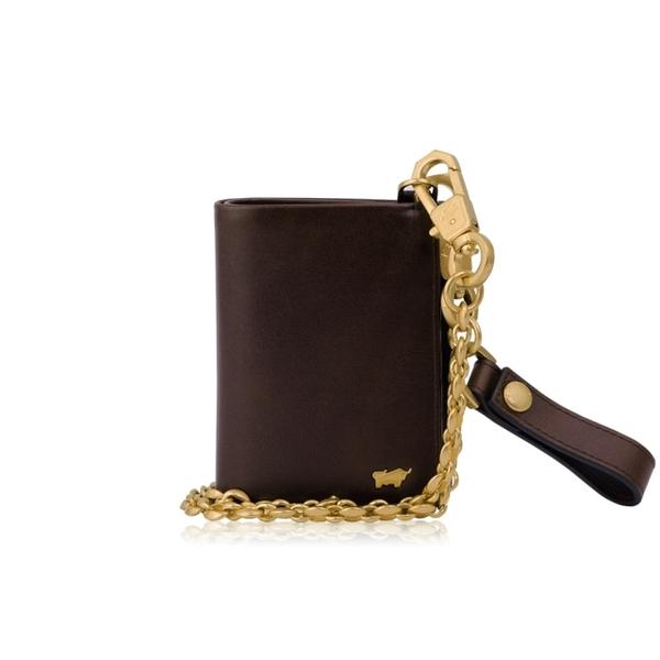 (BRAUN BUFFEL)BRAUN BUFFEL business card holder-brown / BF343-131-BR