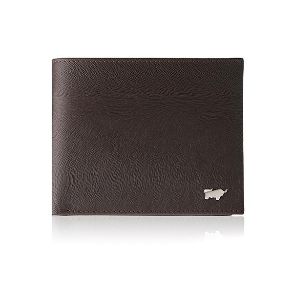 (braun buffel)[BRAUN BUFFEL German Taurus] Taiwan distributor Tiberius II 8 card wallet-ebony / BF348-313-ENY