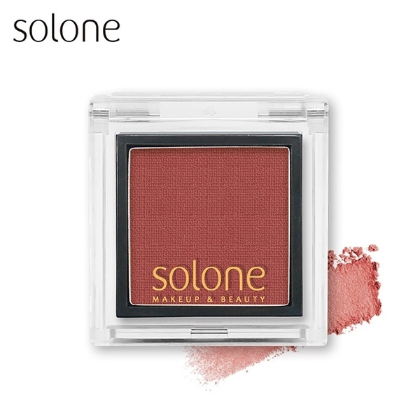 (Solone)Solone Monochrome Eye Shadow #55 Maple Brick Red 0.85g
