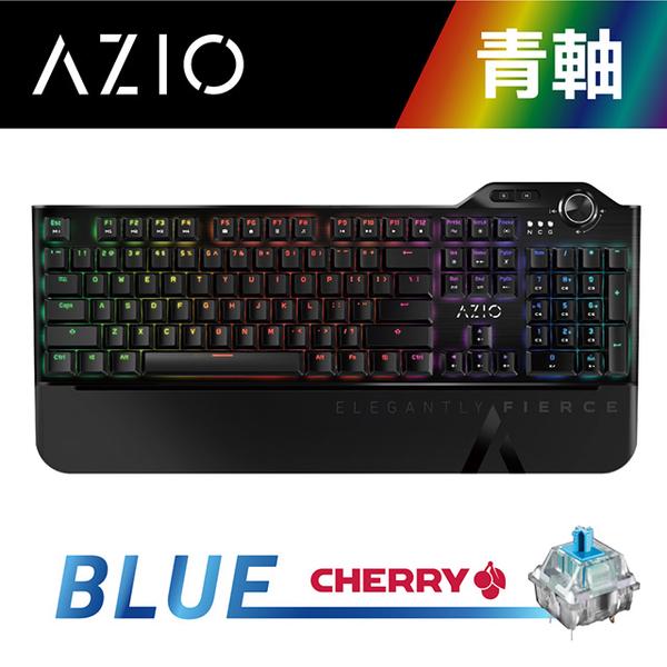 (AZIO)AZIO MGK L80 MAX RGB Green Axis/Chinese/Germany Cherry Mechanical Keyboard