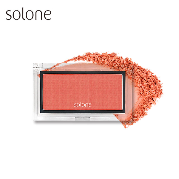 (solone)Solone Apple Muscle Redness Blush 2.5g #06 Apricot Orange Orange