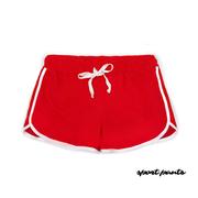 [NO.1 SPORT] กีฬาเกาหลีกางเกงขาสั้นกีฬาระบายอากาศเย็นสบาย ๆ กางเกงขาสั้นกางเกงวิ่งจ๊อกกิ้งออกกำลังกายกางเกงกางเกงขาสั้นกางเกงบาสเก็ตจริง (สีแดง)