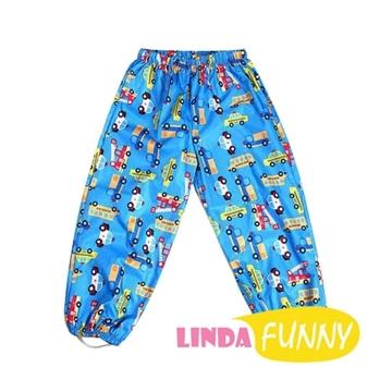 (hugmii)Child funny figure modeling children's rain pants _ car
