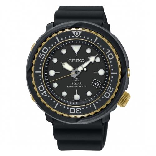 (SEIKO)SEIKO PROSPEX Advertising Solar Dive Rubber Watch / V157-0CX0X / SNE498P1