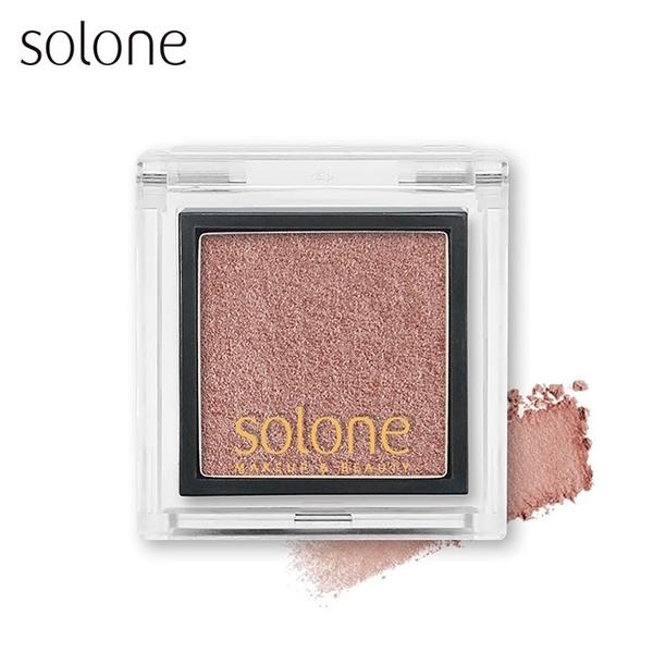 (Solone)Solone Monochrome Eye Shadow #47 可可金莎0.85g
