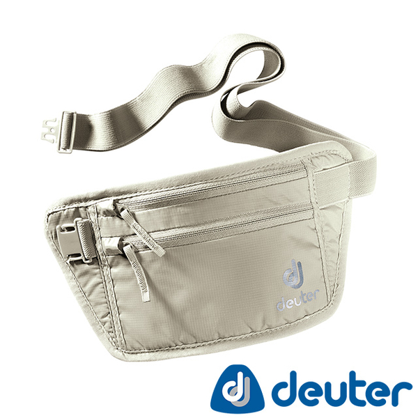 [Germany] deuter SECURITY MONEY BELT hidden pockets (3910216 Khaki / Security lightweight personal / leisure travel security / passport documents package)