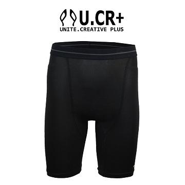 U.CR + ภายในกางเกงฟังก์ชั่นมอเตอร์ - สีดำ