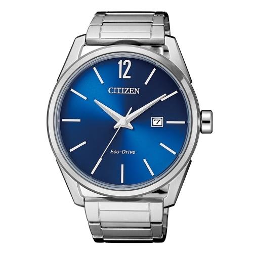 (citizen)CITIZEN Simple 3-Hand Eco-Drive Fashion Watch / BM7411-83L
