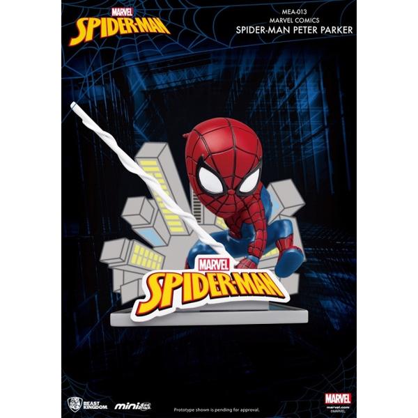 (beast kingdom)MEA-013 Peter Parker, Marvel Hero Spiderman
