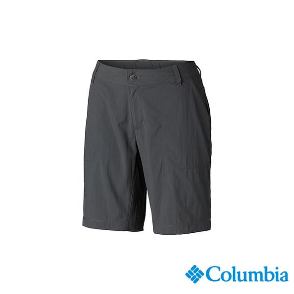 โคลัมเบียโคลัมเบียกางเกงขาสั้นรุ่นหญิง -UPF50 แถวอย่างรวดเร็ว - มืด UAR26670DY สีเทา
