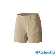 โคลัมเบียโคลัมเบียรุ่นหญิง -UPF30 รั่วไหลกางเกงขาสั้น - UAR19890TN สีน้ำตาล