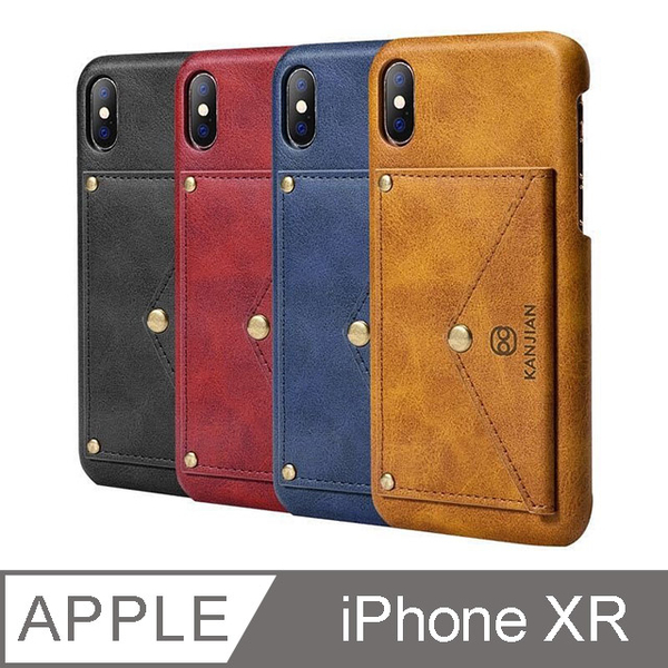 (TOYSELECT)[TOYSELECT] TYS Classic leather card holder mobile phone case iPhone XR