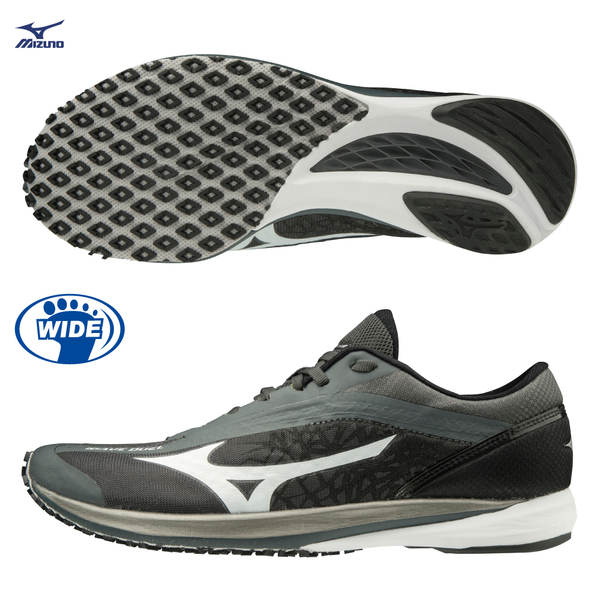 [] Mizuno MIZUNO WAVE DUEL wide last general sportsman models running shoes U1GD197058