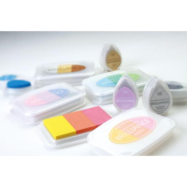 [Tsukineko] BD-406 four-color ink pad bright color drop set - Color Astronomy