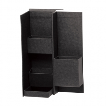 [NAKABAYASHI] LST-B01-BK Life Style Tool Black-Magnetic Absorption Nano Box (S)