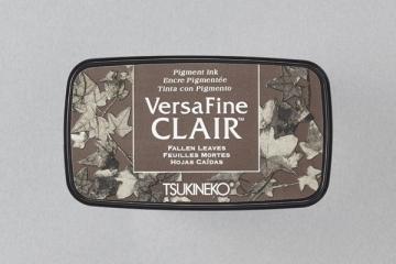 [Tsukineko] VF-CLA-451 oil-based quick-drying ink pad fine - dark lines / deciduous