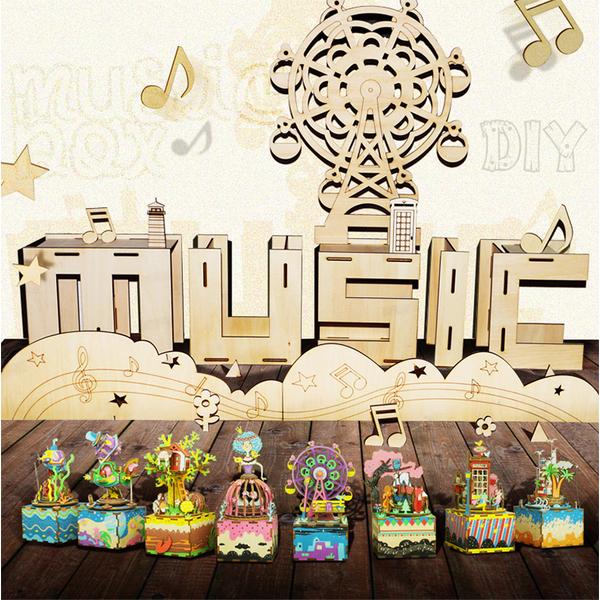 DIY music box - resort island