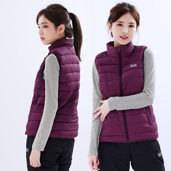 (Globe Trotter)Travel all over the world neutral windproof and splashproof 90% down collar vest