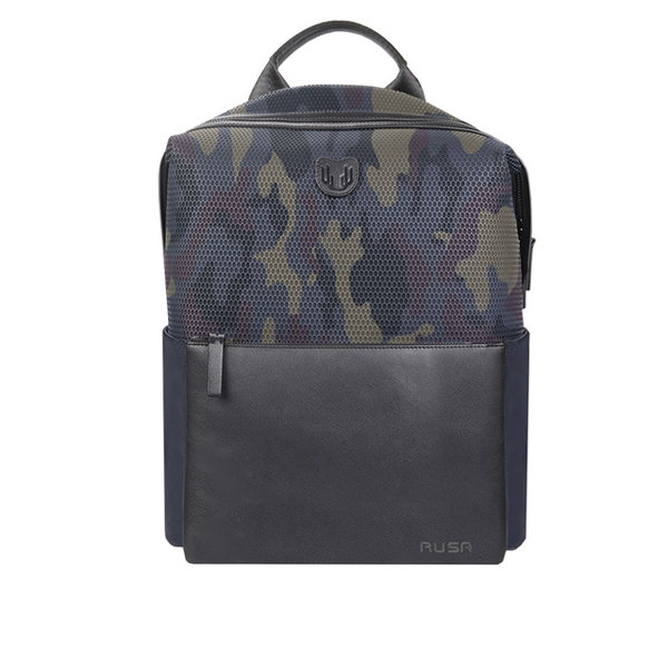 (RUSA)14-Inch Backpack (RS-516 / Camouflage Blue)